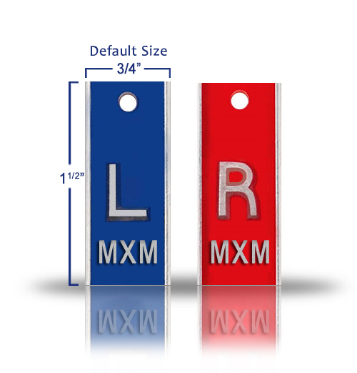 Radiography Elite Style Lead X Ray Markers