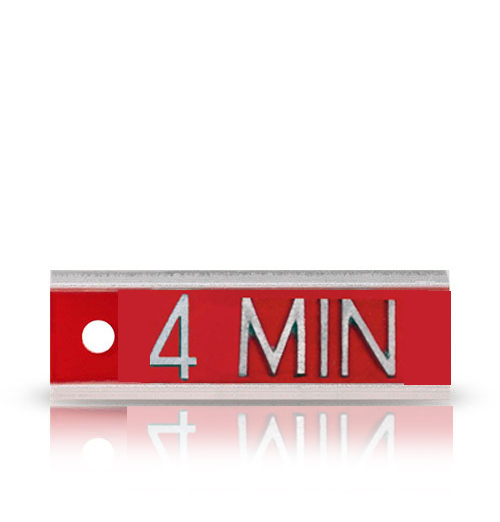 Aluminum Identifier Word X ray Marker, up to 4-5 letters or Numbers.