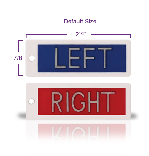 Identifier Right Left Marker Set No Initials