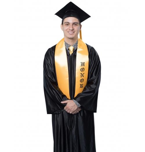 Adult Cap, Gown & Tassel Set Shiny