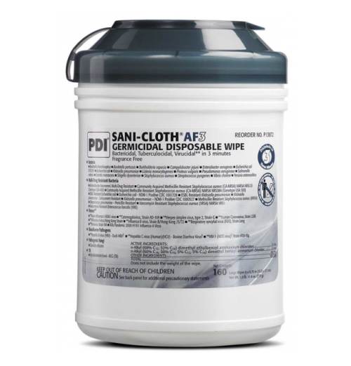 Alcohol Free Disinfectant Wipes
