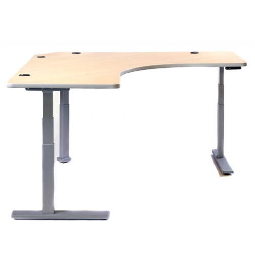 Corner View Desk with Undivided Surface