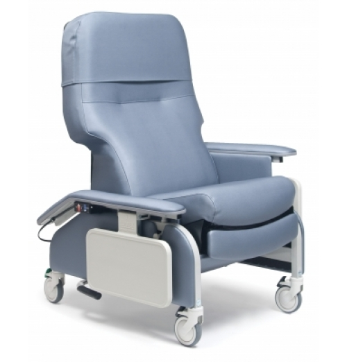 Deluxe DropArm Clinical Recliner with Heat and Massage
