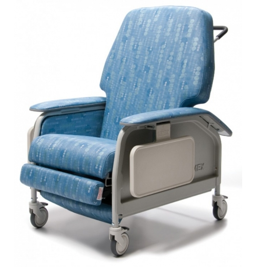 Deluxe Extra Wide Clinical Recliner with Heat and Massage