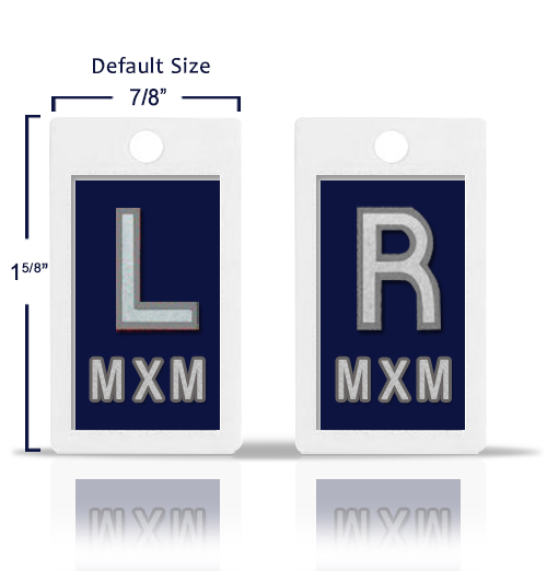 Dark Blue Lead X Ray Markers