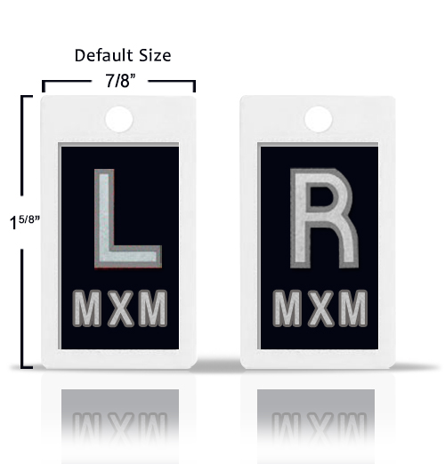 Black Custom X Ray Markers