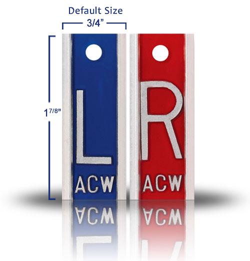 Aluminum Lead XRay Markers