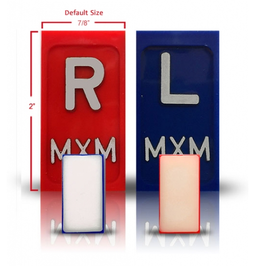 One Sided Self Adhesive Radiology XRay Markers