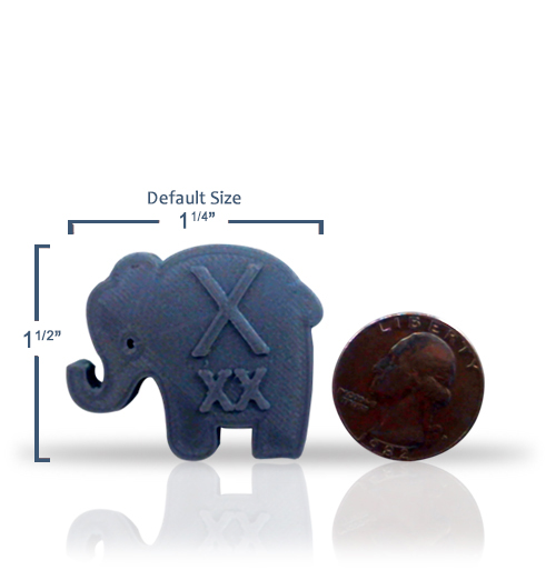 Elephant Shaped Xray Markers