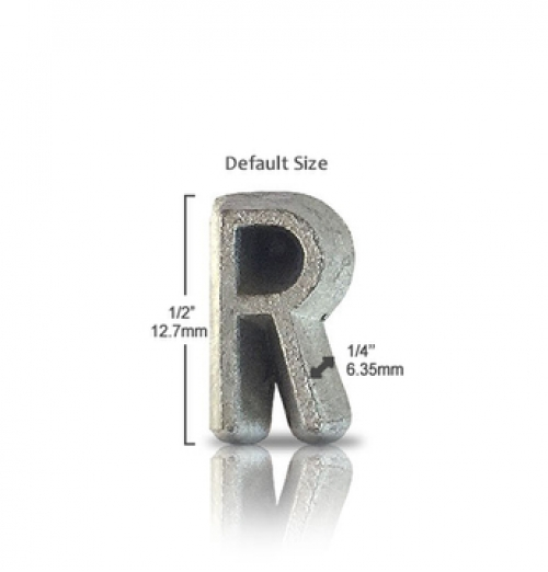 Industrial Unmounted Lead Letters
