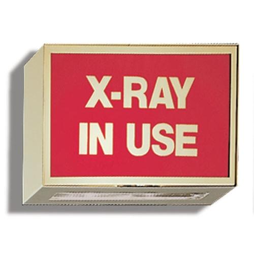 Illuminated Sign XRay In Use