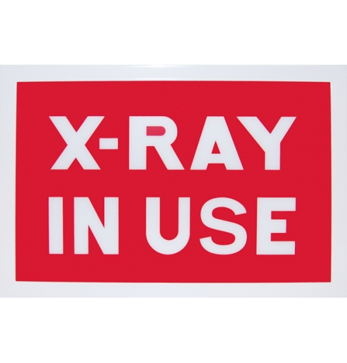 LED Illuminated Sign XRay In Use