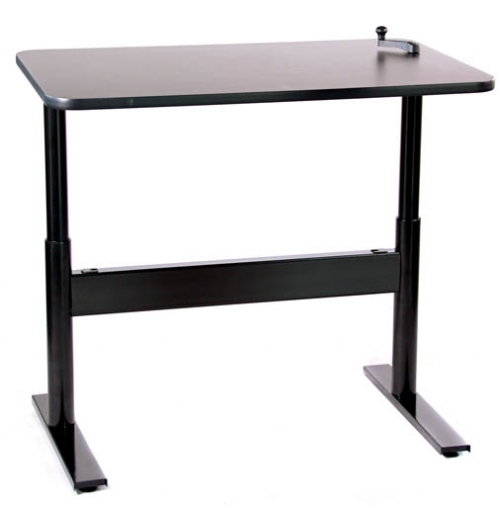 Manual Crank Lift Desk