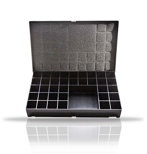 36 Compartment Lead Number Case,Black