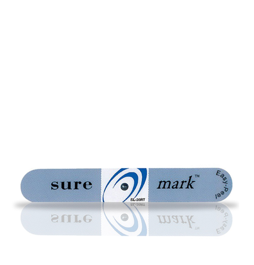 Suremark 2.0mm lead ball on relief tabbed label