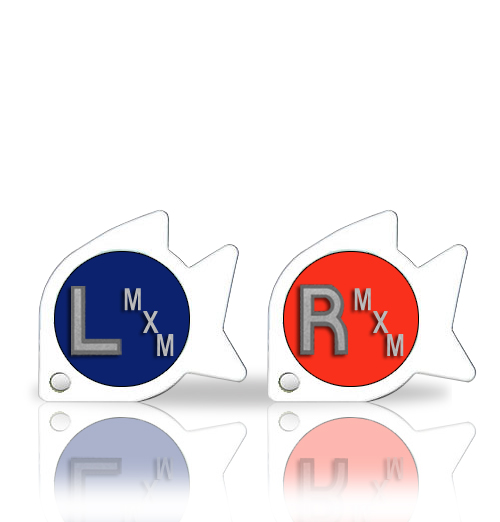 Non Adhesive Fish X Ray Markers With Initials