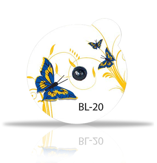 2.0mm Lead Ball on BeautyLine Butterfly label