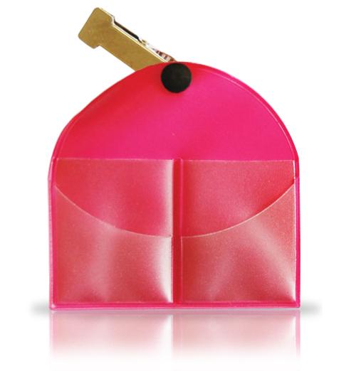 Pink Vinyl Marker Keeper
