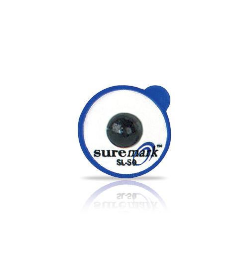 Powermark 5.0mm lead ball on 15mm label