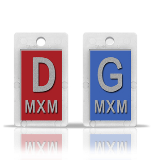 French Identifier Marker Set With Initials