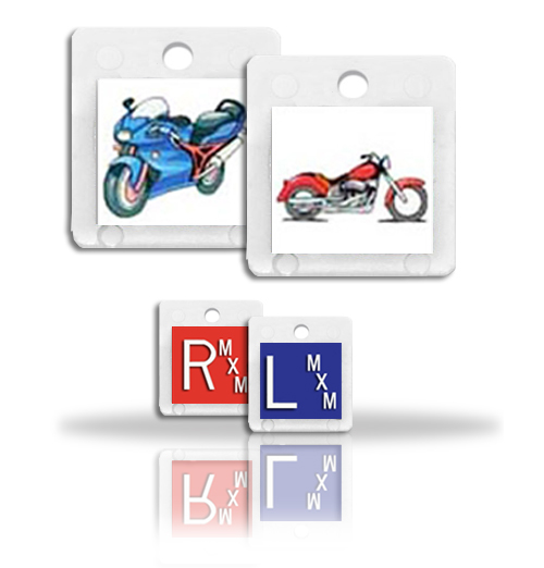 Personal Touch Photo Markers Bike