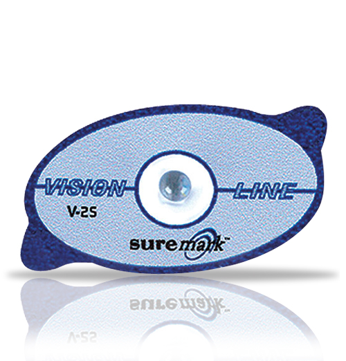 2.5mm Visionline ball on label