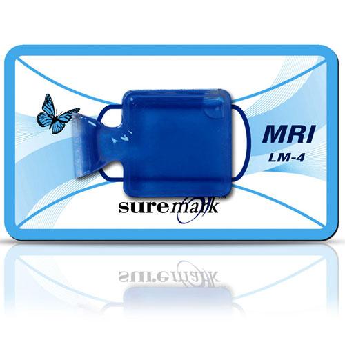 LiquiMark 10mm square liqui pouch MRI marker