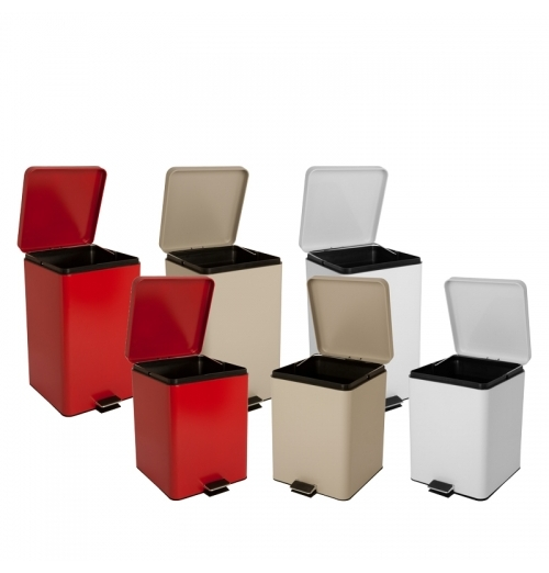 Square Trash Can - Waste Recepticle