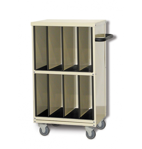 Tall CR Imaging Receptor Cart