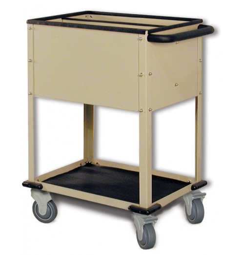 Top Loading CrPlate Cart 2Compartments