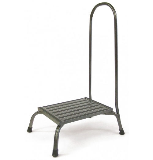 Bariatric Step Stool with  Hand Rail 1000 Lb Capacity