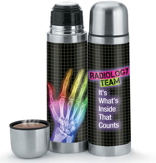 Radiology Team Stainless Steel Vacuum Thermos